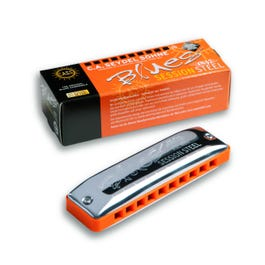 Image for SESSION STEEL Blues Harmonica, Low Key from SamAsh