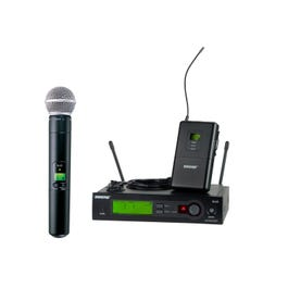 Image for SLX124/85/SM58 Combo Wireless System from SamAsh