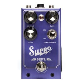 """Supro 1305 """"Drive"""" Overdrive Guitar Effects Pedal"""
