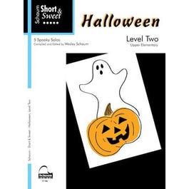 Hal Leonard Short & Sweet -Halloween – Level 2
