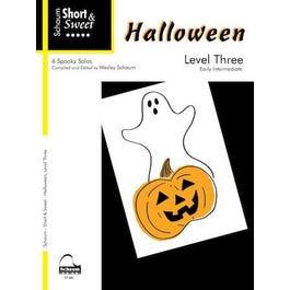 Hal Leonard Short & Sweet -Halloween – Level 3