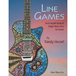 Sher Music Line Games--An In-Depth Study of Single-Note Lines for Guitar