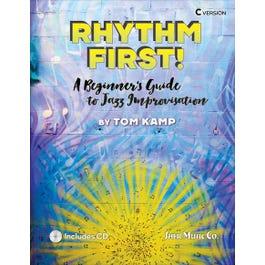 Sher Music Rhythm First!-A Beginner's Guide to Jazz Improvisation-C Version BCD