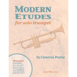 Sher Music Modern Etudes for Solo Trumpet-Book & CD