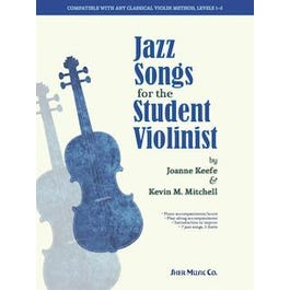 Sher Music Jazz Songs for the Student Violinist