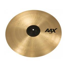 """Sabian AAX 22"""" Thin Ride Cymbal- Natural"""