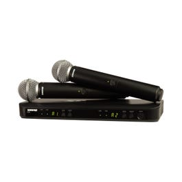 Image for BLX288/SM58 Wireless Dual Vocal System from SamAsh
