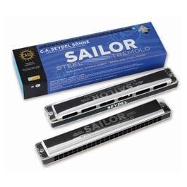Image for 26484 Sailor Steel Tremolo Harmonica from SamAsh