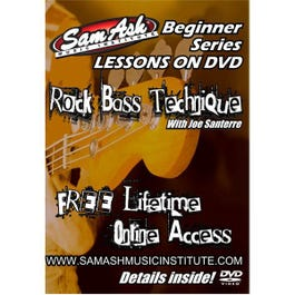 Image for Rock Bass Technique (DVD) from SamAsh