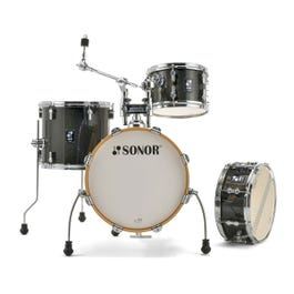 Sonor AQX Jungle 4-Piece Drum Shell Pack (Black Midnight Sparkle)