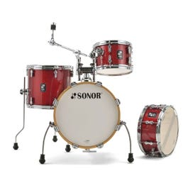 Sonor AQX Jungle 4-Piece Drum Shell Pack (Red Moon Sparkle)