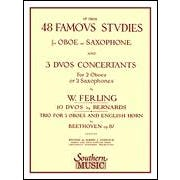 Southern Music 48 Famous Studies, (1st and 3rd Part)  Oboe