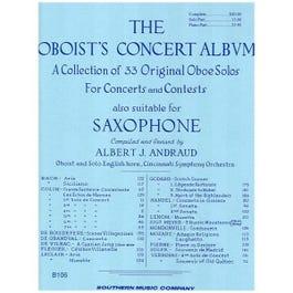 Image for Andraud-Oboist's Concert Album  Oboe from SamAsh