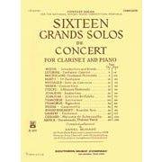 Hal Leonard 16 Grands Solos de Concert (Clarinet)