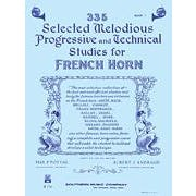 Image for 335 Selected Melodious Progressive & Technical Studies-Horn-Level: 2 from SamAsh