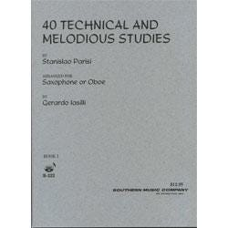 Image for Forty Technical and Melodious Studies for Saxophone from SamAsh
