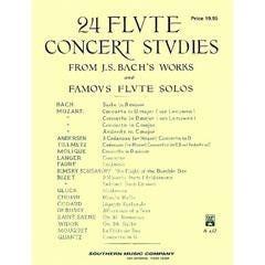 Image for Bach 24 Flute Concert Studies from SamAsh