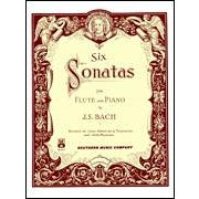 Hal Leonard Bach- 6 Sonatas for Flute