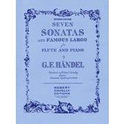 Hal Leonard Handel-7 Sonatas and Famous Largo – Revised Edition