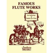 Image for Famous Flute Works – An Anthology of Studies for Flute from SamAsh