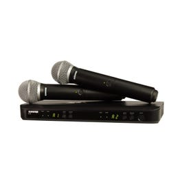 Image for BLX288/PG58 Dual Channel Handheld Wireless System from SamAsh