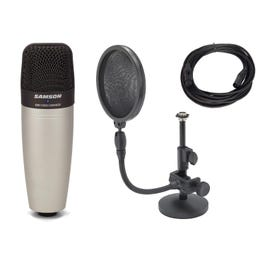 Image for C01 Condenser Microphone with Pop Filter