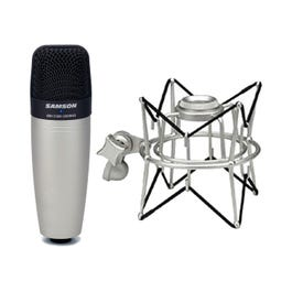 Image for C01 Condenser Microphone Package with SP01 Spider Mount from SamAsh