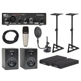 Image for SC01 Complete Studio Condenser Mic Pack with Interface and Monitors from SamAsh