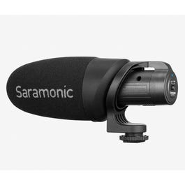 Saramonic CamMic+ Battery-Powered On-Camera Microphone for Cameras and Mobile Devices