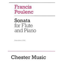 Hal Leonard Francis Poulenc: Sonata For Flute And Piano-Revised Edition,1994