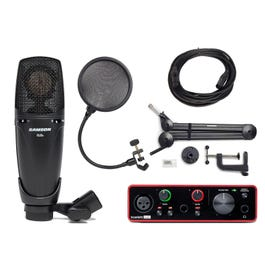 Image for CL8a Condenser Microphone Complete Music Recording Package from SamAsh