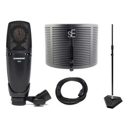 Image for CL8a Condenser Microphone with sE Electonics Pop Filter and Mic Stand from SamAsh
