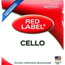Image for Red Label Cello String Set from SamAsh