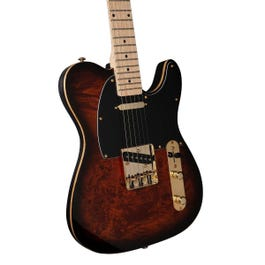 Image for Custom Collection 50 Electric Guitar (Burl Burst) from Sam Ash