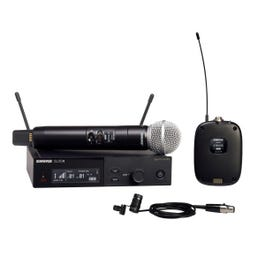 Image for SLXD124/85 Digital Single-Channel Combo Wireless System (H55 Band) from SamAsh
