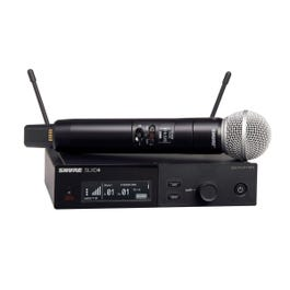Image for SLXD24/SM58 Digital Single-Channel Handheld Wireless Vocal System (G58 Band) from SamAsh
