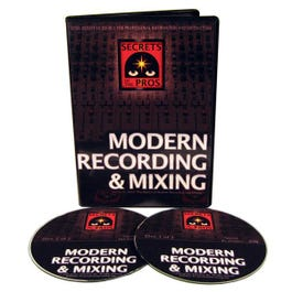 Image for Basics of Modern Recording And Mixing (2 DVD Set) from SamAsh