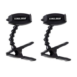 Image for FON-9-CB Universal Smartphone Mini Clamp Stand Mounts 2-Pack from SamAsh