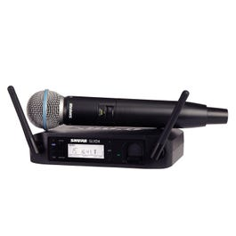 Image for GLXD24/BETA58A Handheld Wireless System from SamAsh