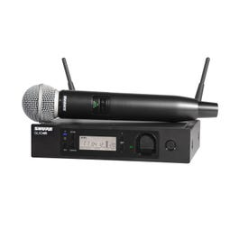 Image for GLXD24R/SM58 Handheld Wireless System from SamAsh