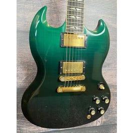 Gibson 2006 SG Supreme Emerald Fade