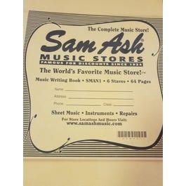 Sam Ash 6 Stave 64 pg Manuscript - SAMN1