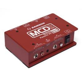 Samson MCD2 Pro Stereo Passive PC Direct Box