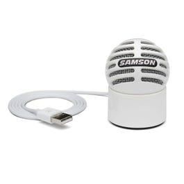 Image for Meteorite USB Condenser Microphone (White) from SamAsh