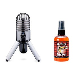 Image for Meteor USB Mic Sanitizer Package from SamAsh
