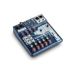 Image for Notepad-8FX 8-channel Desktop Mixer w/USB I/O and Lexicon Effects from SamAsh