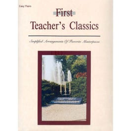 Image for First Teacher's Classics for Easy Piano from SamAsh