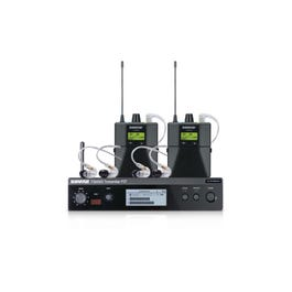 Image for PSM300 PSM300 Twin Pack Pro Stereo In-Ear Monitor Wireless System with Two Bodypack Receivers and Two Sets of SE215-CL from SamAsh