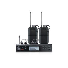 Image for PSM300 Twin Pack Stereo In-Ear Monitor Wireless System with Two Bodypack Receivers and Two Sets of SE112 Earphones from SamAsh