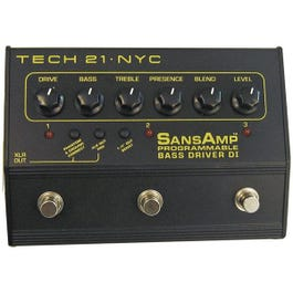 Image for SansAmp Programmable Bass Driver Direct Box from SamAsh